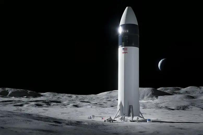 starship_på_månen